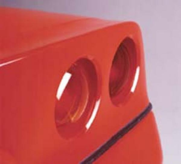 Bubble Taillights 84-90 4x rot